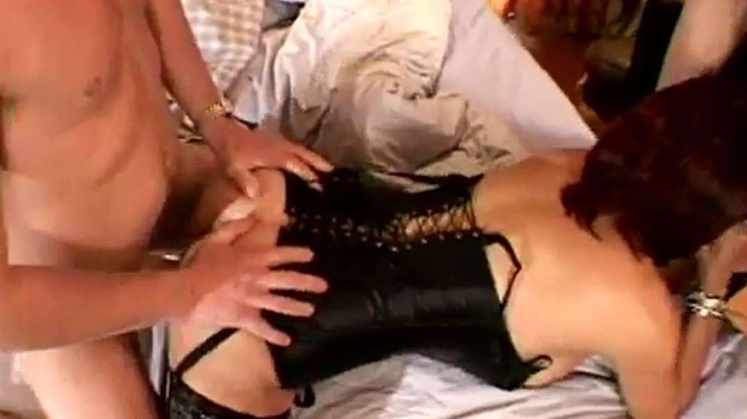 Sexy chick enjoying