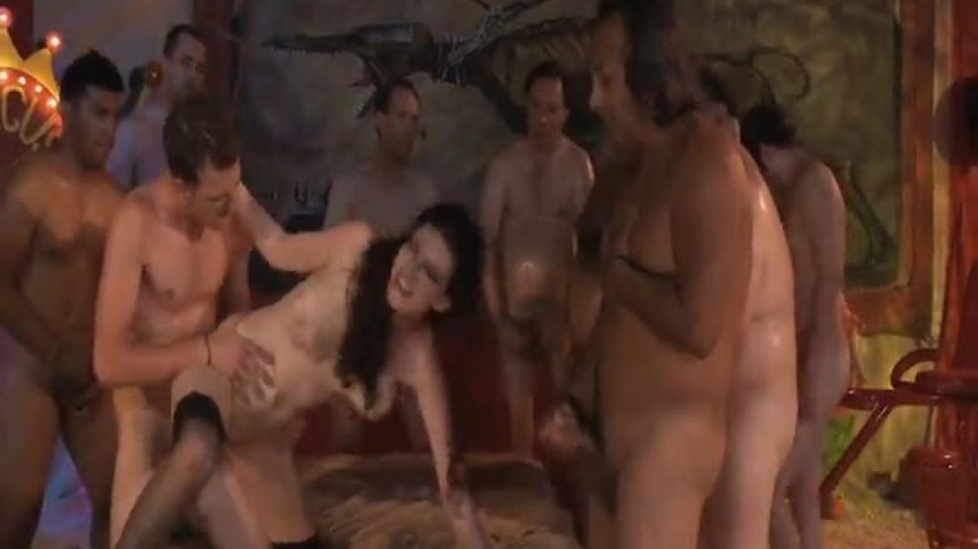 Sabrina Deep Fan Bang Orgy Scene