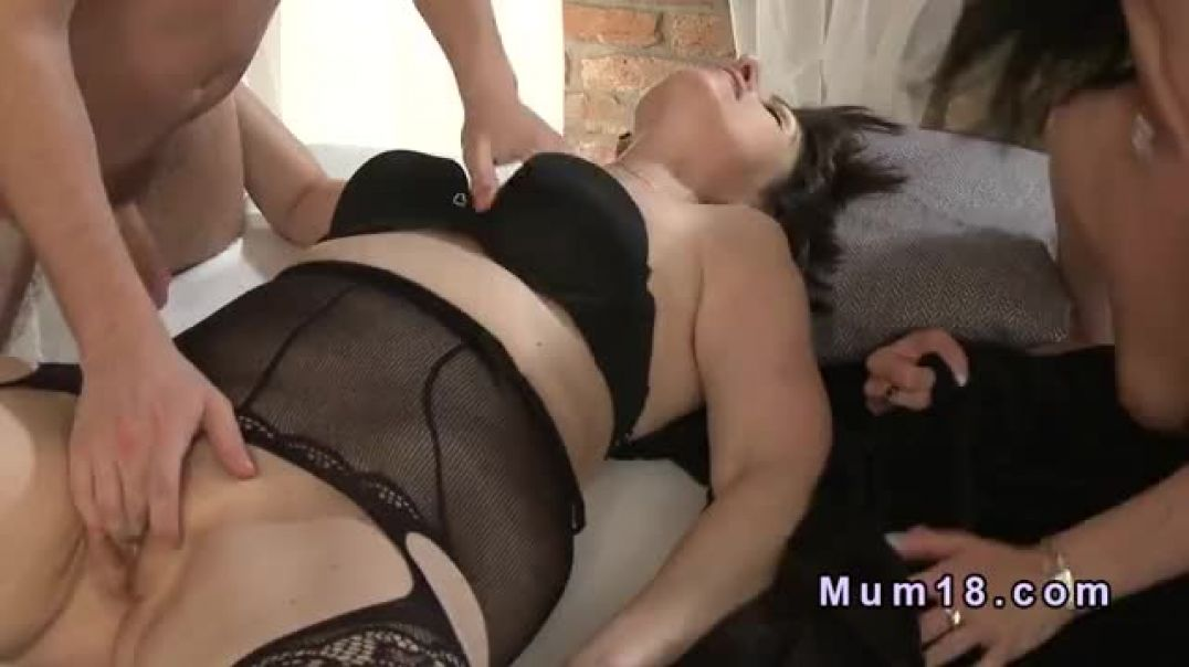 Two Mature Lady Swingers Fucking