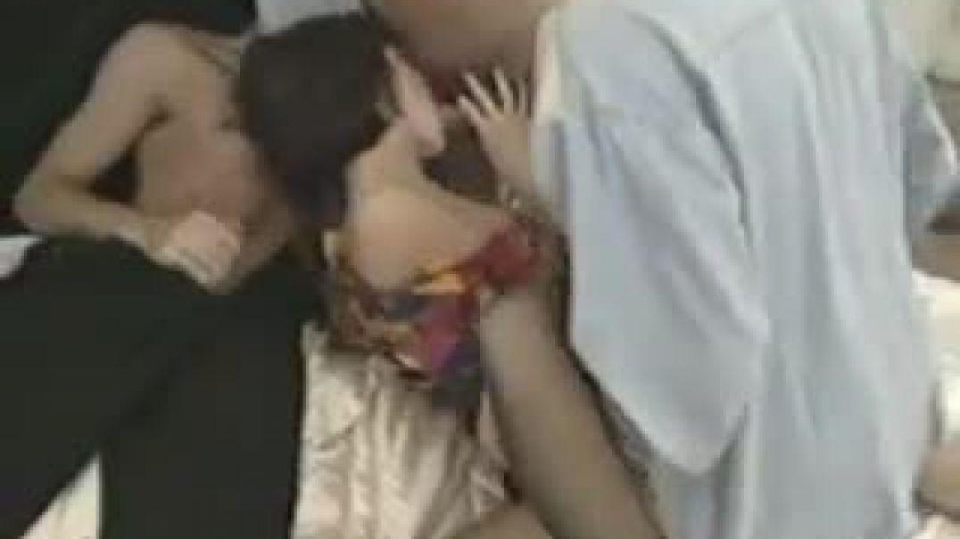 Retro Threesome Liza