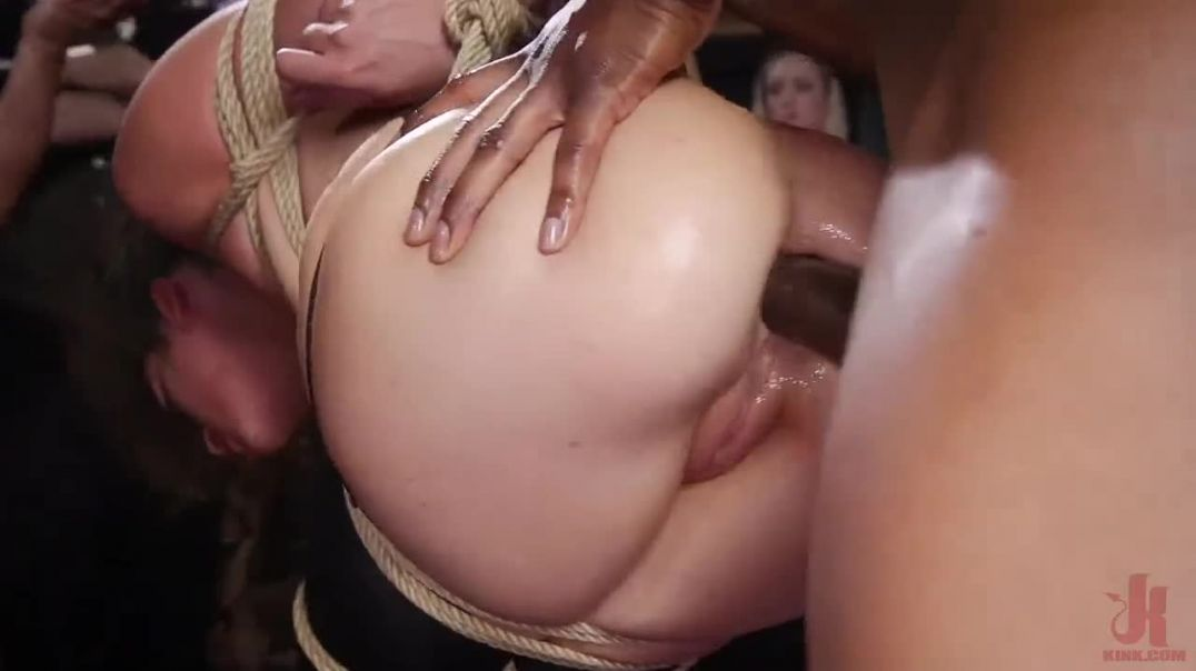 BDSM orgy where ladies are testing out the limits of their sexuality