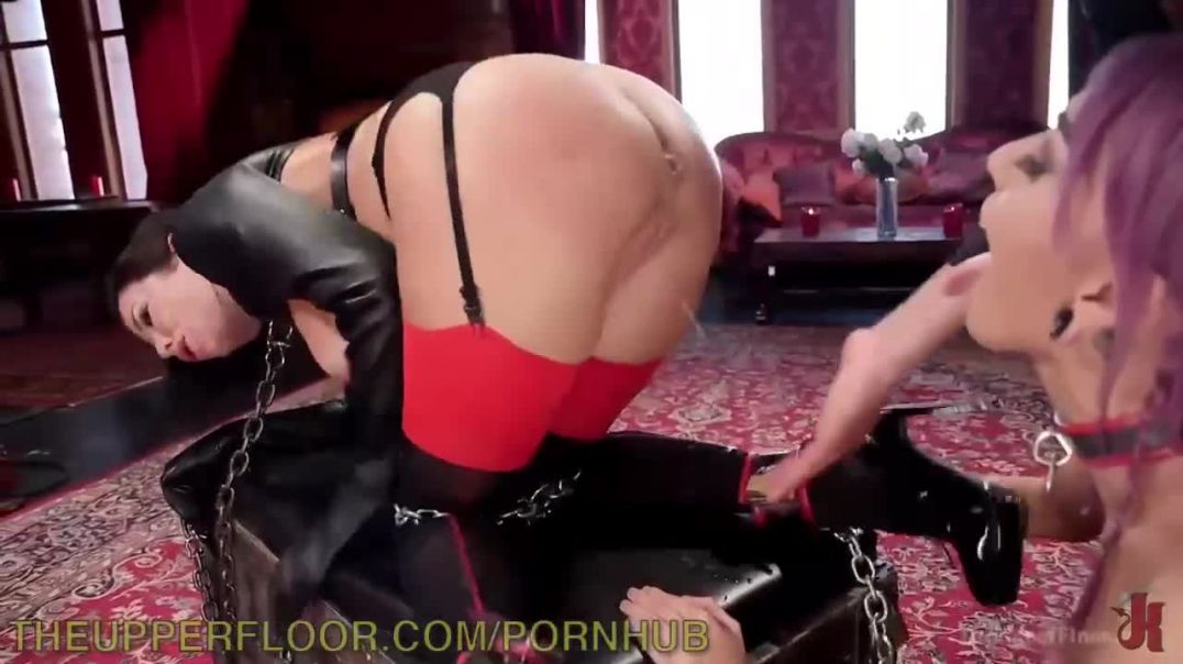 Hard-fucked two babes bdsm anal fisting segment